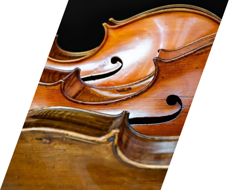 three cellos